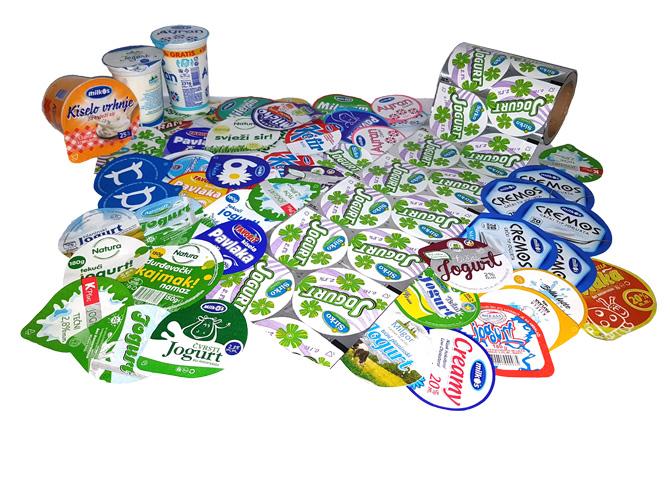Aluminijumski poklopci za mljekarsku industriju
